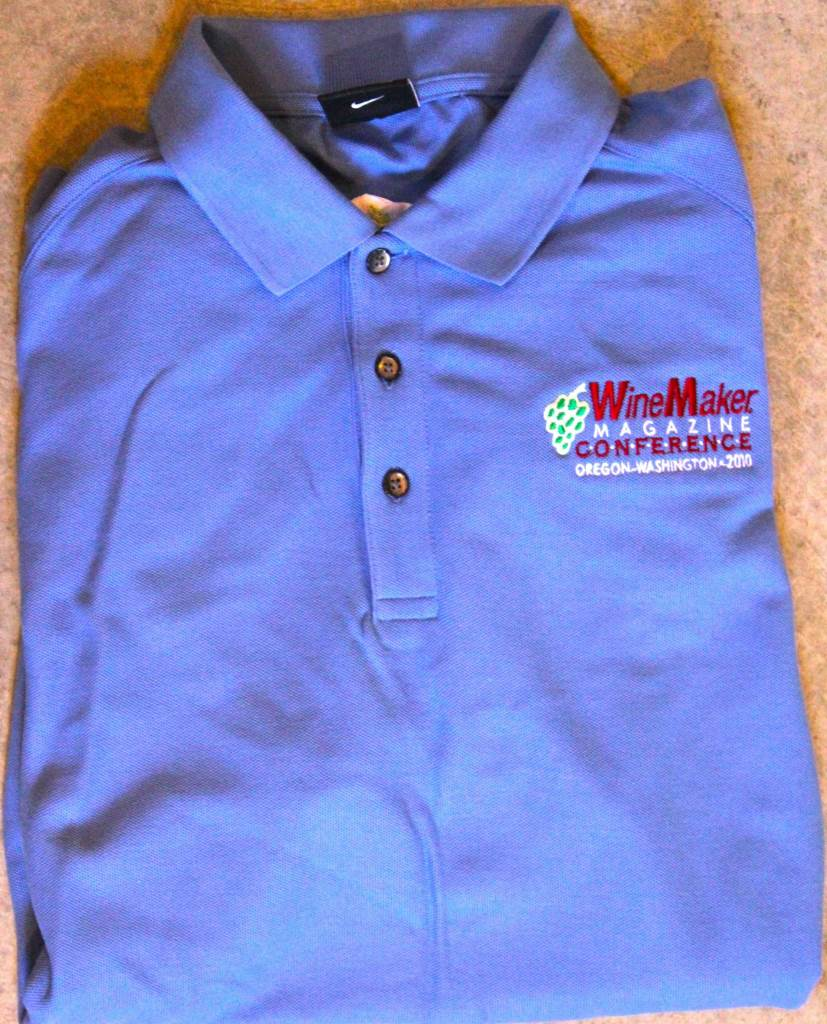 2010 WineMaker Conference Men's Polo Shirt